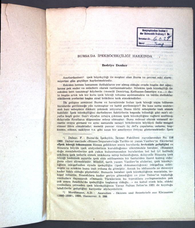 Bursa-039-da-Ipekboecekciligi-Hakkinda-Denker-Bedriye