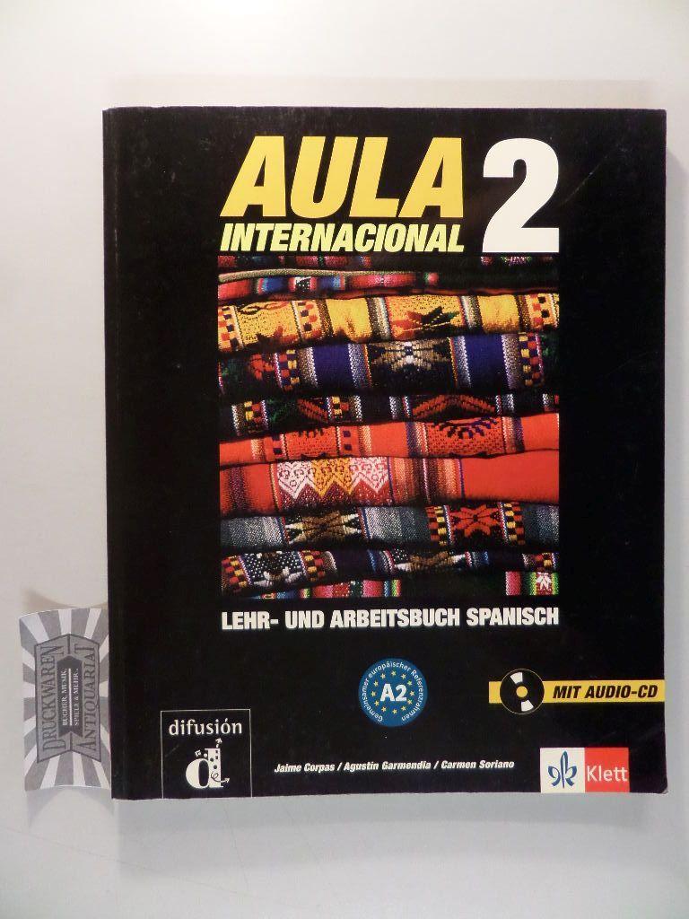 Aula - Band 2 :  Lehr- und Arbeitsbuch Spanisch [Buch & CD]. Corpas, Jaime: