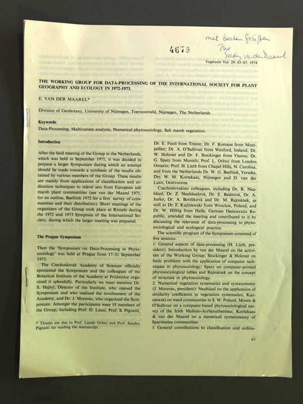 The Working Group for Data-Processing of the International Society for Plant Geo - Deutschland - Online-Streitbeilegung gemäß Art. 14 Abs. 1 ODR-VO: Die Europäische Kommission stellt eine Plattform zur Online-Streitbeilegung (OS) bereit, die Sie unter http://ec.europa.eu/consumers/odr/ finden. Widerrufsbelehrung Widerrufsrecht: Sie k - Deutschland