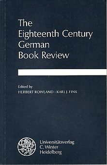 The Eighteenth-Century German Book Review