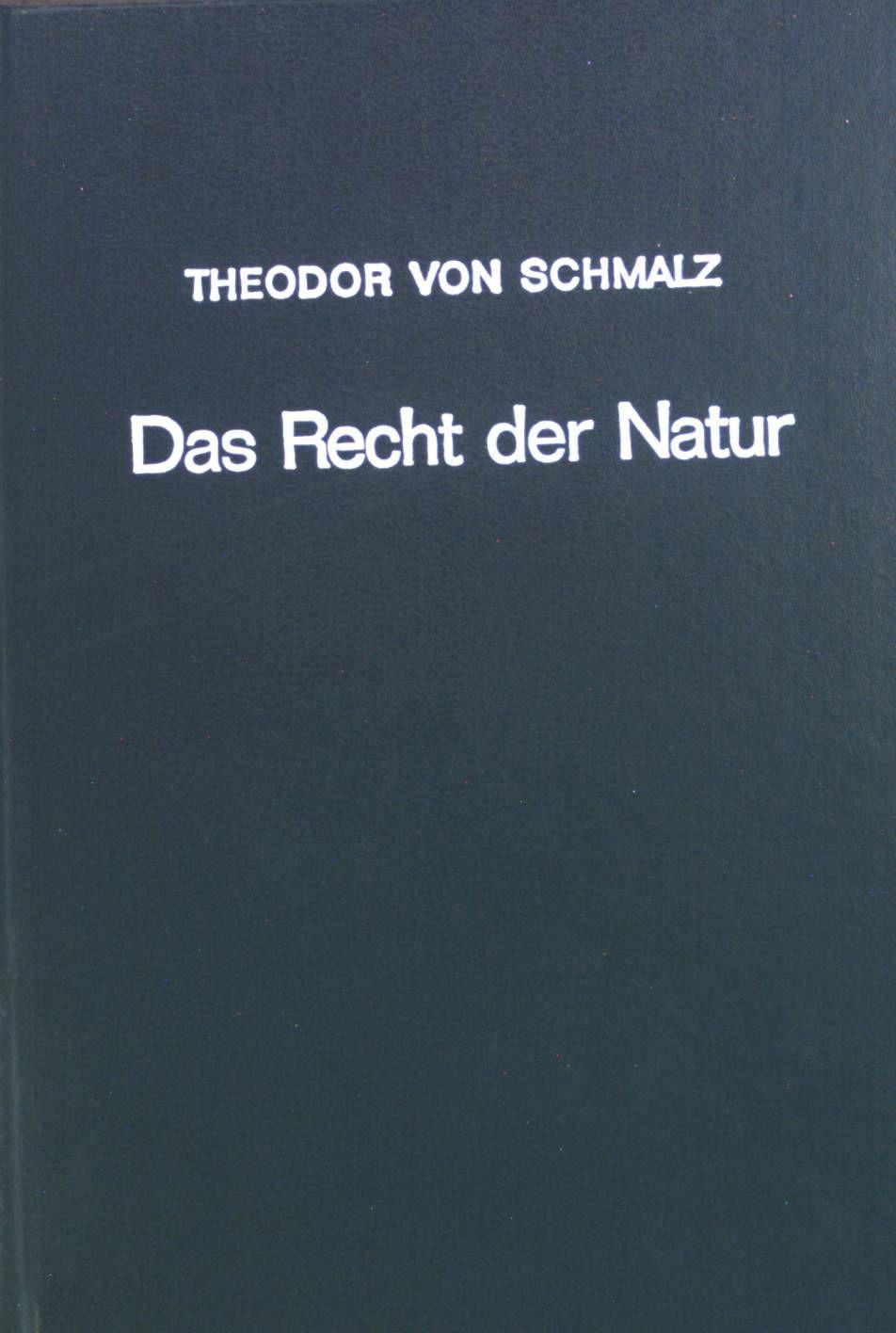 Das Recht der Natur