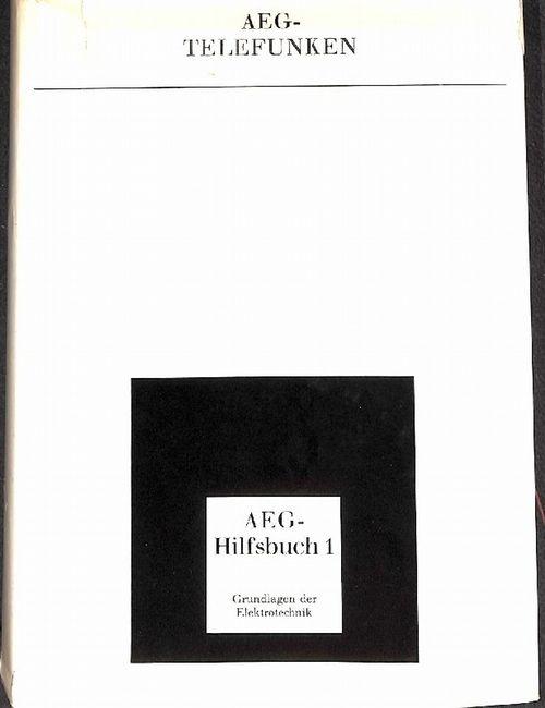 Hilfsbuch Der Elektrotechnik Aeg Telefunken Hrsg