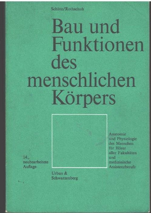 354102643X - Bau und Funktionen des menschlichen Koerpers - Anatomie ...