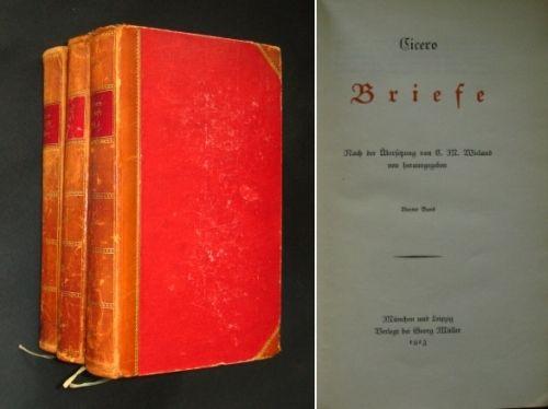 Briefe Von Cicero : Cicero s tusculanen übersetzt und erklärt von dr raphael