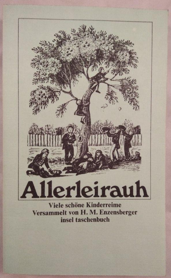 Allerleirauh: Viele schöne Kinderreime versammelt von H. M. Enzensberger. - Enzensberger, Hans Magnus