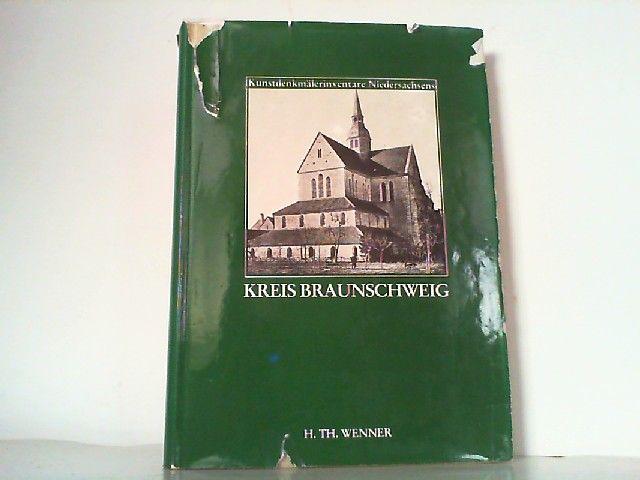 Die Kunstdenkmäler des Kreises Braunschweig. (Reihe: Kunstdenkmälerinventare Niedersachsend, Band 7). - Braunschweig - Meier, P.J.