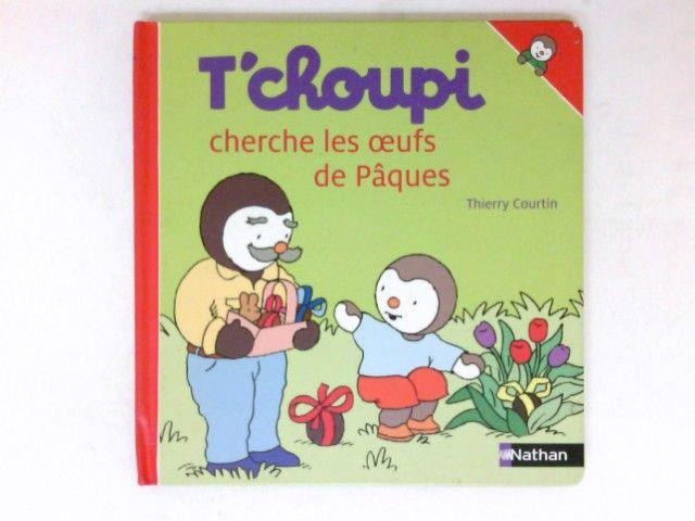 T'choupi cherhce del oeufs de Paques - Courtin, Thierry