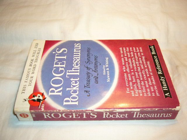 6183780731 - Houghton Mifflin Company : Roget's Pocket Thesaurus - Το βιβλίο
