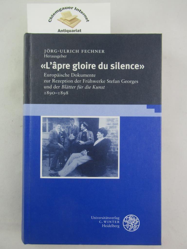Lapre gloire du silence