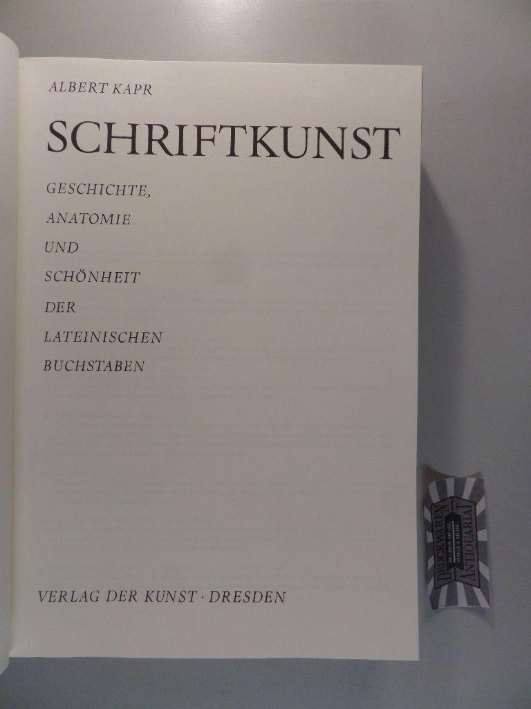 Schriftkunst - Geschichte, Anatomie und Schönheit der lateinischen ...