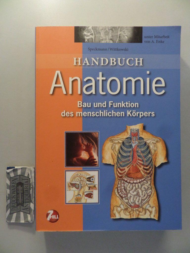 9783833180118 - Handbuch Anatomie - Speckmann, E.-J.; Wittkowski, W.