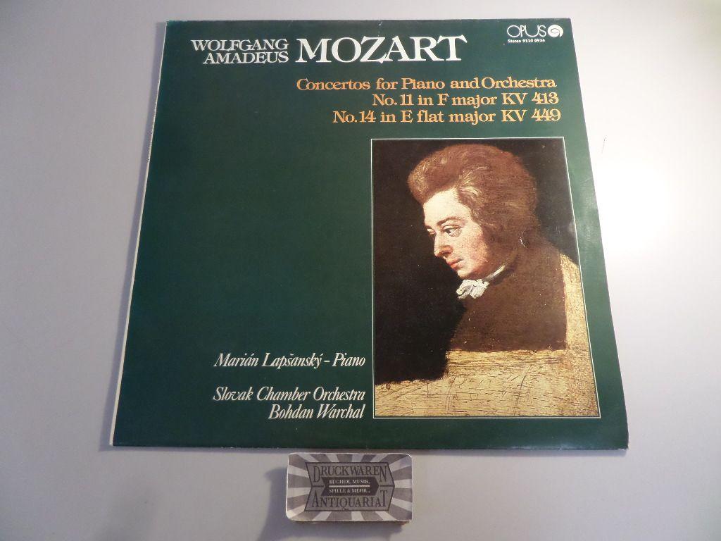 Mozart: Concertos for Piano and Orchestra No. 11 / No. 14 [Vinyl, LP, 9110  0934]
