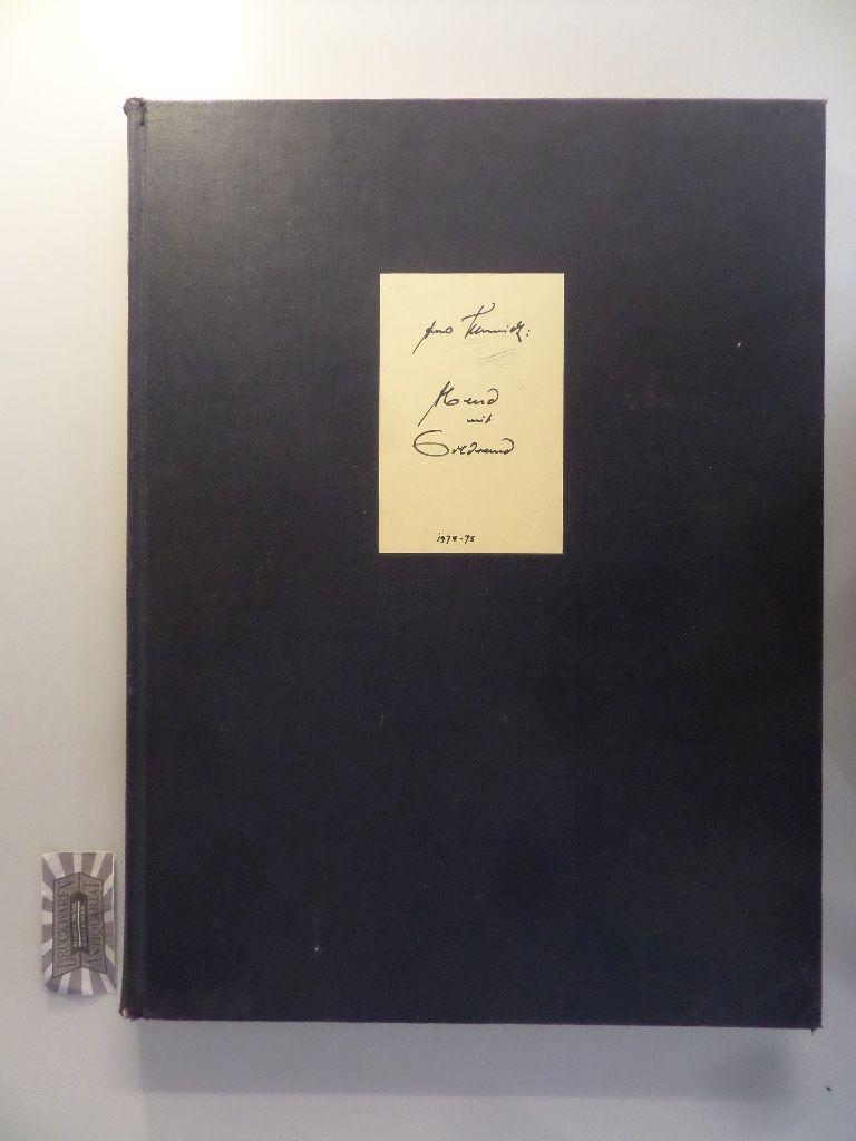 Abend mit Goldrand. Eine MärchenPosse. 55 Bilder aus d. LäEndlichkeit für Gönner der Verschreibkunst. - Schmidt, Arno