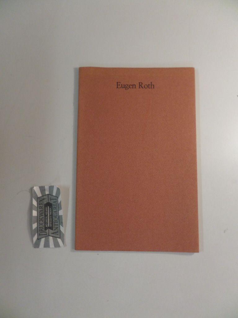 eugen roth zum 70 geburtstag eugen roths rum eugen roth bibliographie kaise ebay