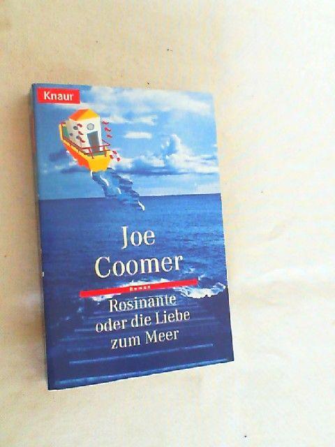 Rosinante oder die Liebe zum Meer : Roman. - Coomer, Joe