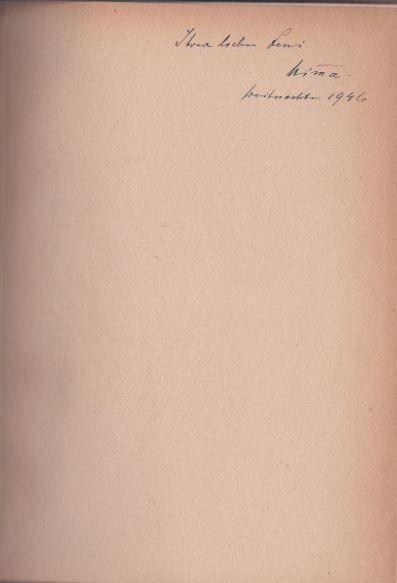 Mein Tagebuch. - Widmungsexemplar - Ricarda Huch - Huch, Ricarda.