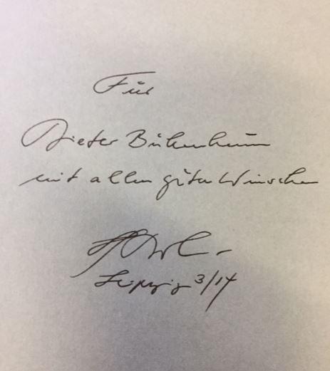 Die Seismografie des Fragens. Biographische Gespräche. - Widmungsexemplar - Jörn Jacob Rohwer - Rohwer, Jörn Jacob.