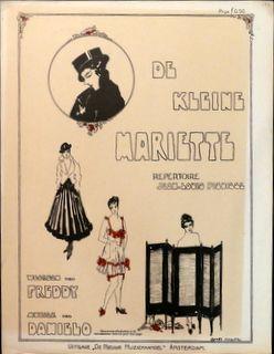 DANIELO: - De kleine Mariette. Repertoire Jean-Louis Pisuisse. Woorden van Freddy