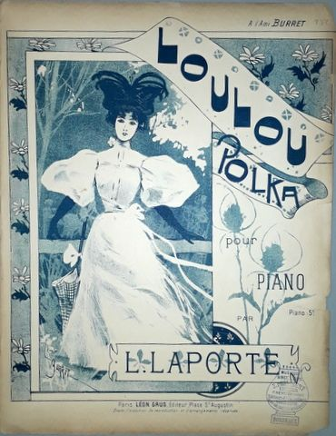 LAPORTE, L.: - Loulou Polka pour piano
