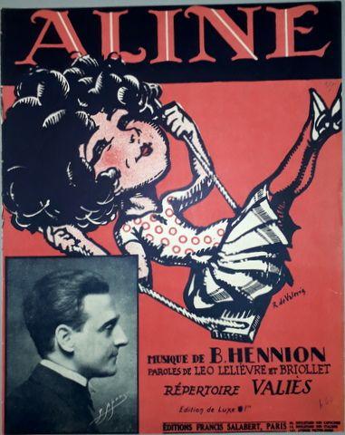 HENNION, B.: - Aline. Répertoire Valiès