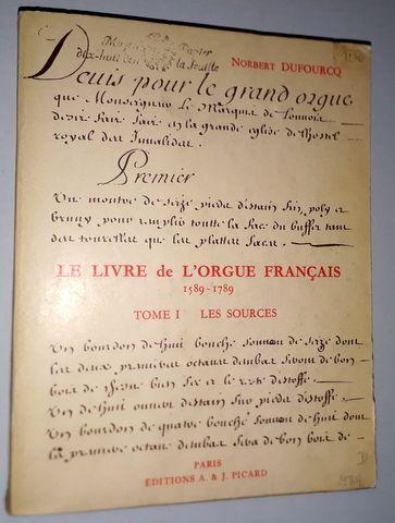 Le livre d`orgue Français 1...