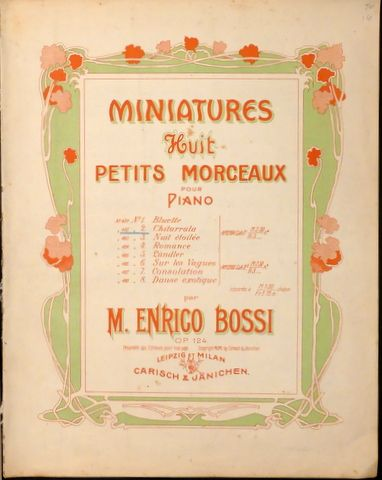 Miniatures. Huit petits mor...