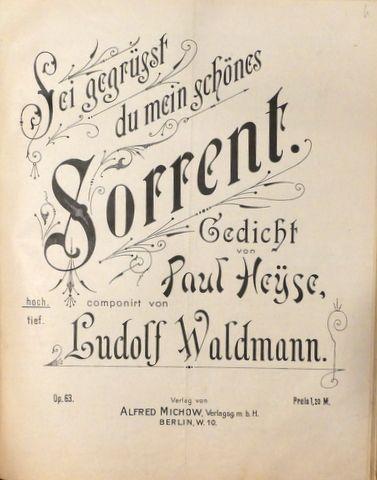 Waldmann, Ludolf: -