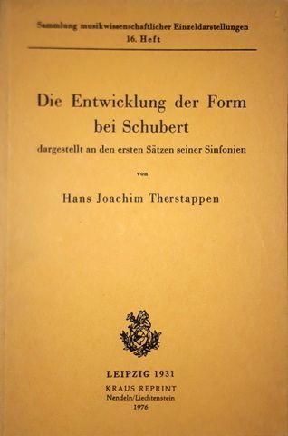 Therstappen, Hans Joachim: -