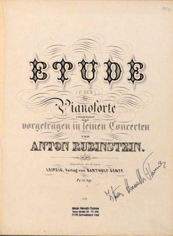 Rubinstein, Anton: -