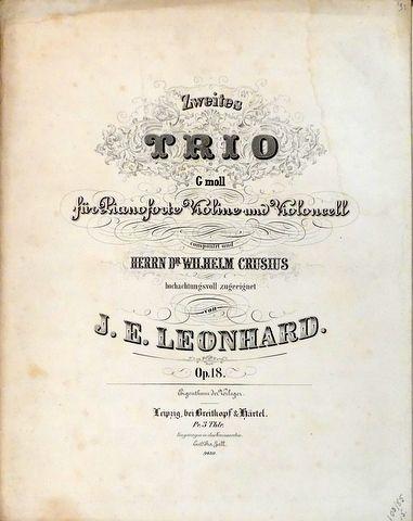 Leonhard, Julius Emil: -