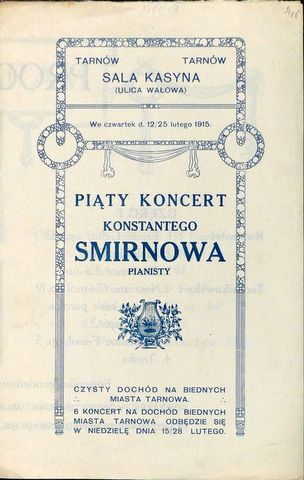[Programmheft] Piaty Koncer...