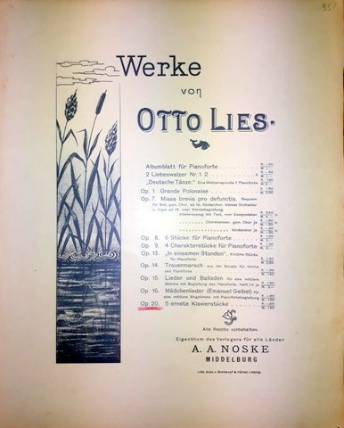 Lies, Otto: -