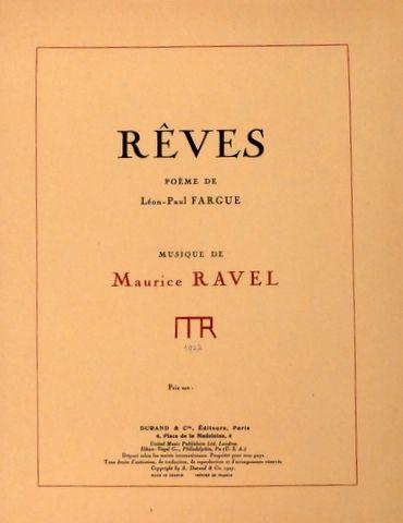 Ravel, Maurice: -