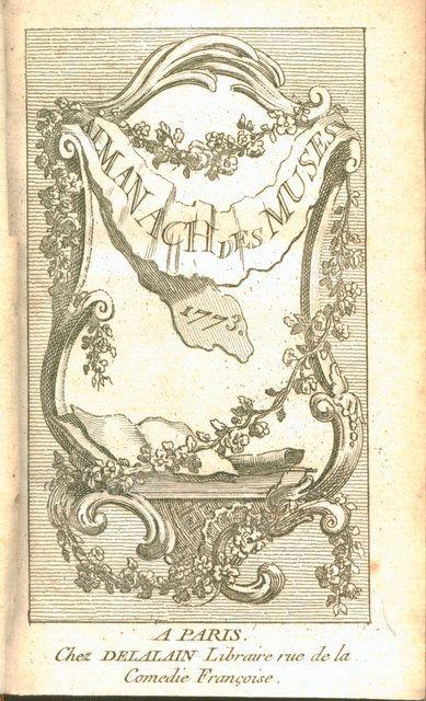 - Almanach des muses 1773