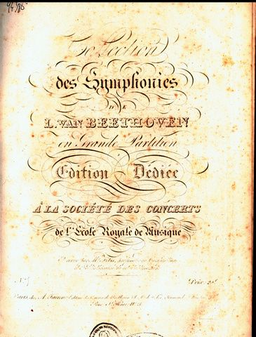 [Op. 67] Collection des sym...