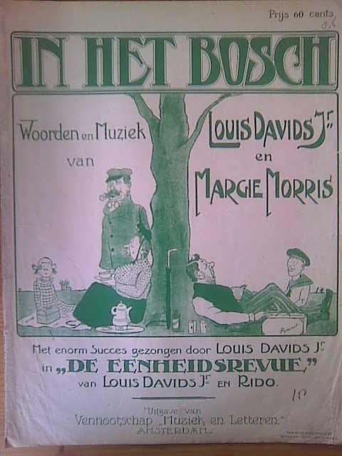 DAVIDS,  LOUIS & MARGIE MORRIS: - In het bos