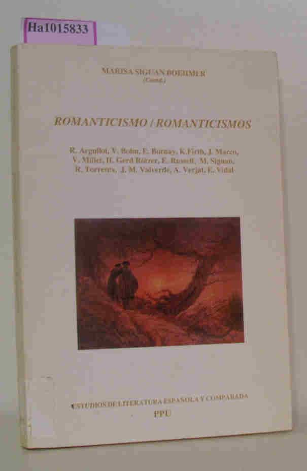 Romanticismo/ Romanticismos. - Boehmer,  Marisa Siguan( Ed. )