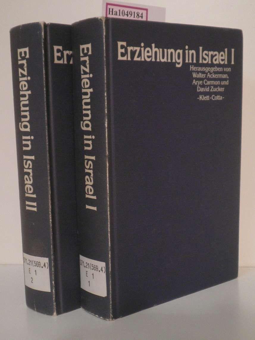 Erziehung in Israel I u. II. - Ackerman,  Walter u.a. (Hg.)