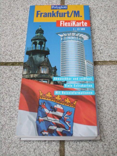 Frankfurt, M. (1:13 500) Textautor:, Polyglott-FlexiKarte - Braunger, Manfred