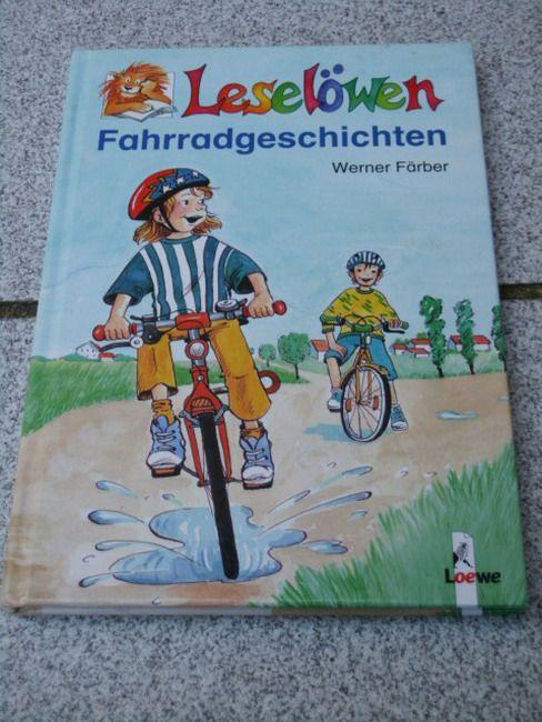 Leselöwen-Fahrradgeschichten. Zeichn. von Julia Drinnenberg, Leselöwen - Färber, Werner
