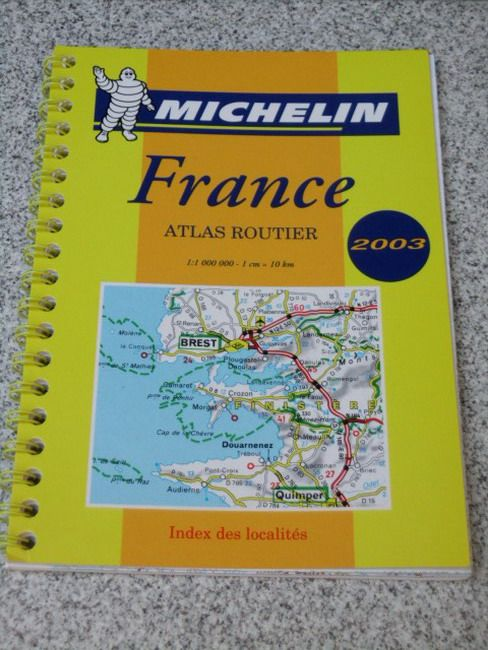 michelin 2003 atlas routier france 1 1 000 000 ebay. Black Bedroom Furniture Sets. Home Design Ideas