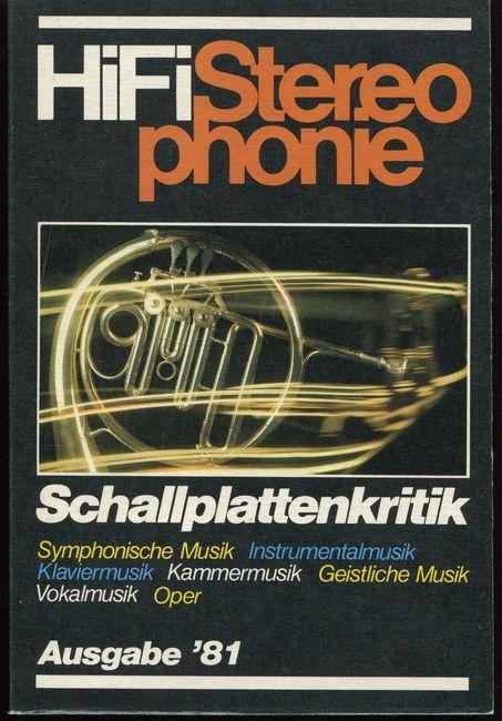 HIFI Stereophonie. Schallplattenkritik Ausgabe´81