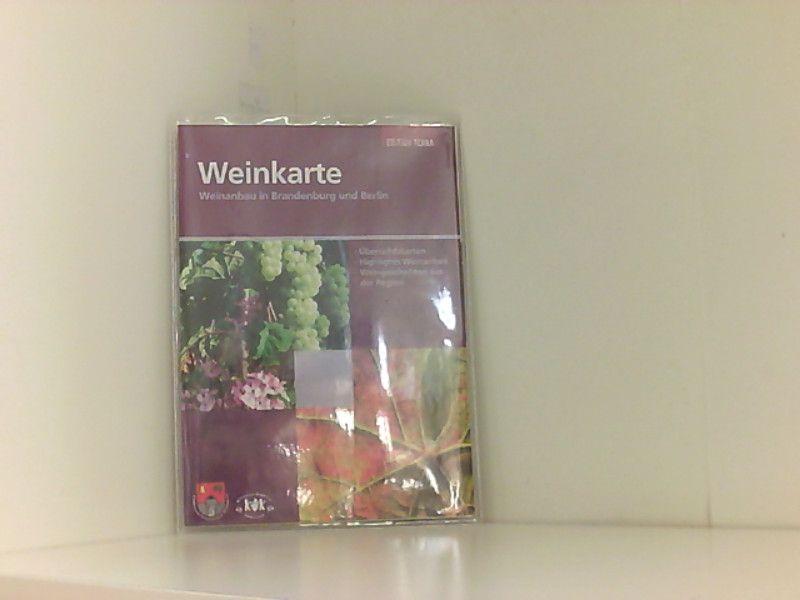 Weinkarte: Weinanbau in Brandenburg und Berlin Weinanbau in Brandenburg und Berlin - Pietsch, Frank