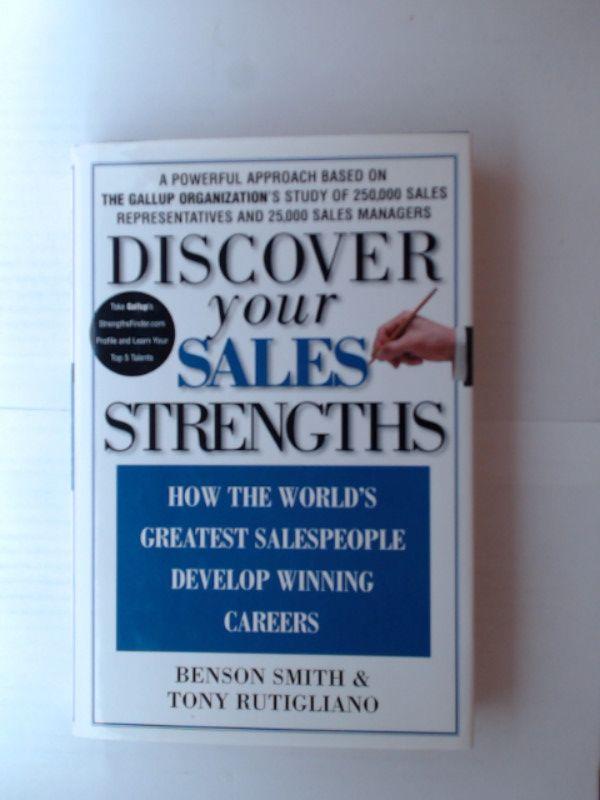 Discover Your Sales Strengths - Rutigliano, Tony und Benson Smith