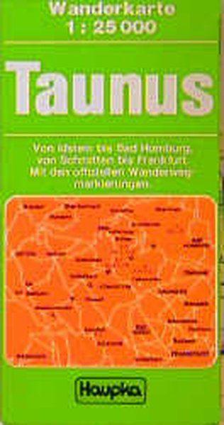 Haupka Wanderkarten, Taunus