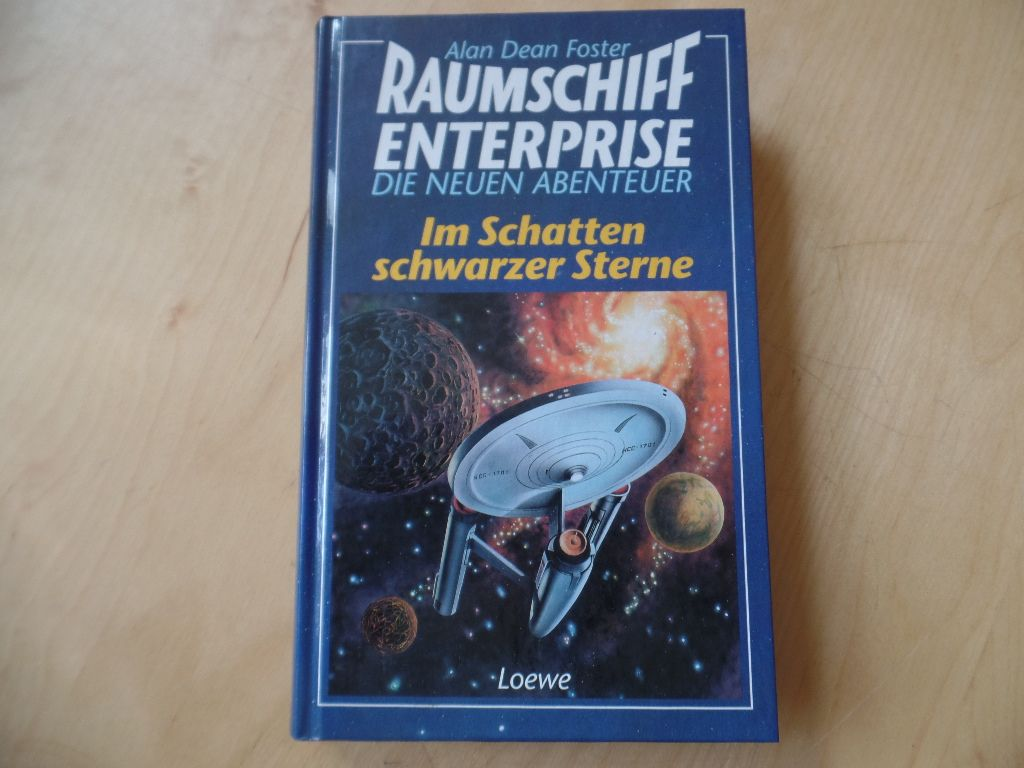 Raumschiff Enterprise Teil: Im Schatten schwarzer Sterne. Die neuen Abenteuer.Aus dem Amerikan. übers. von Hermann Martlreiter - Star Trek, Raumschiff Enterprise, Raumfahrt, Weltall, SciFi, Fantasy, Science Fiction - Foster, Alan Dean