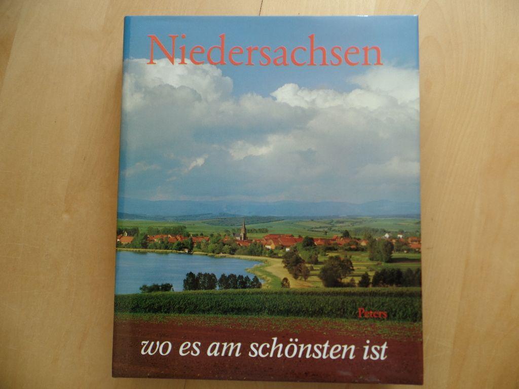 Niedersachsen, wo es am schönsten ist. Texte von Wilhelm Treue - Niedersachsen, Bildbände, Geographie, Heimat- und Länderkunde, Reisen - Treue, Wilhelm