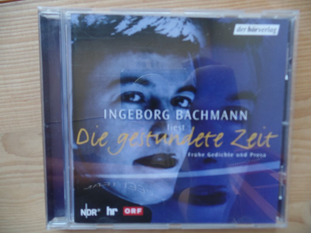 Die gestundete Zeit (Edition 1): Frühe Gedichte und Prosa - Bachmann, Ingeborg