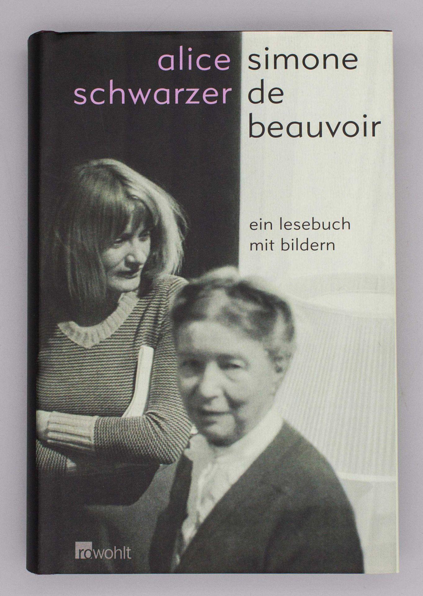 Simone de Beauvoir: Ein Lesebuch mit Bildern