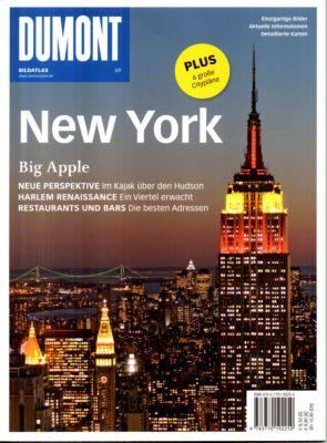 New York. DUMONT Bildatlas. Einzigartige Bilder. Aktuelle Informationen - Jeier, Thomas (Text)